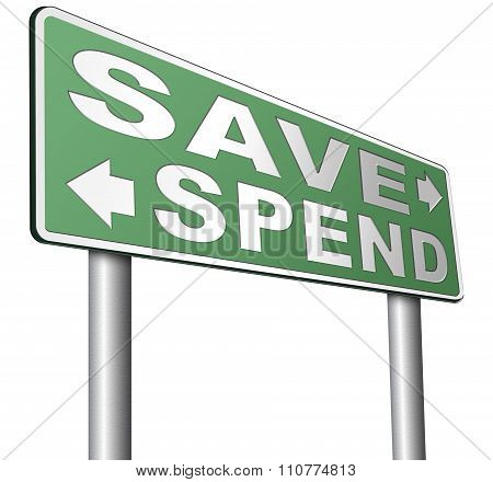 Save Or Spend Money