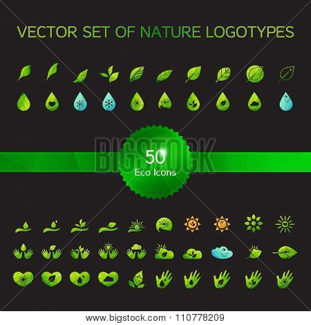 Ecology Icons, Nature Logo