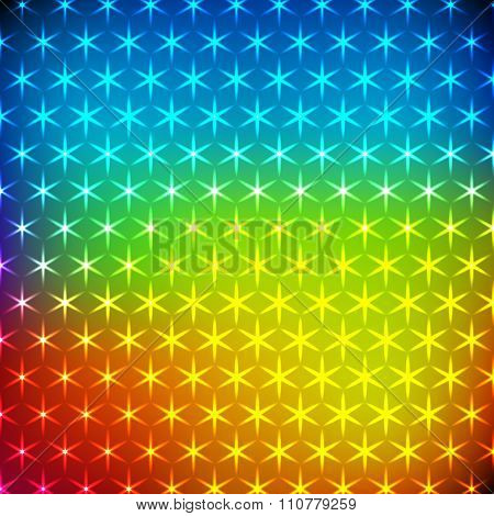 Abstract rainbow shining background