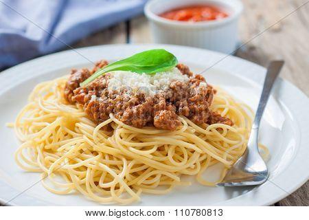 Italian Pasta Bolognese
