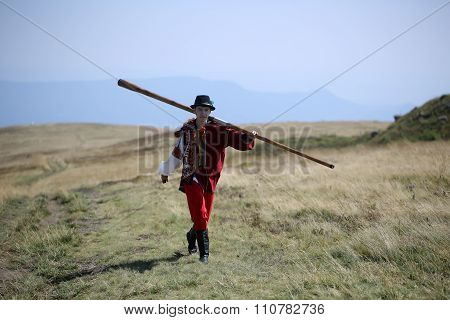 Man With Trembita