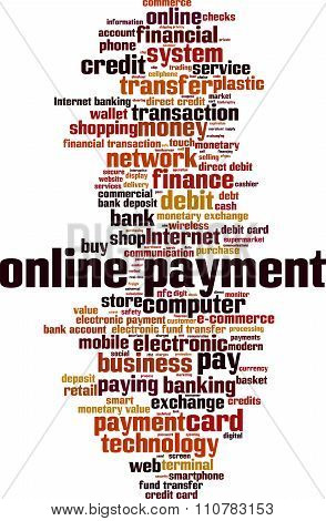 Online Payment Word Cloud