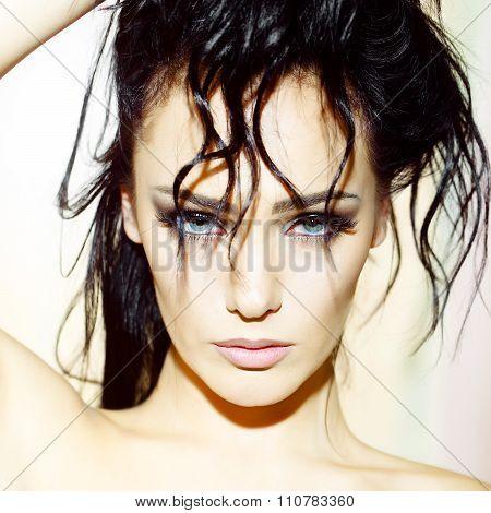 Cool Sexy Woman Closeup