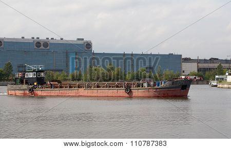 Ship At The River