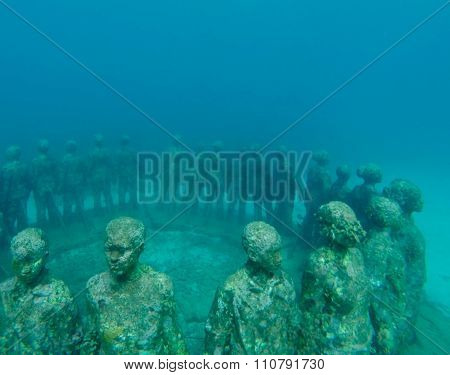 The Grenada Underwater Sculpture