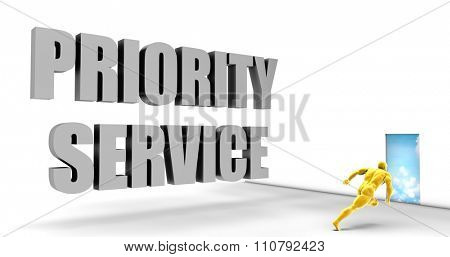 Priority Service as a Fast Track Direct Express Path