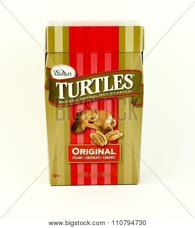 Box Of Demet's Carmel Turtles