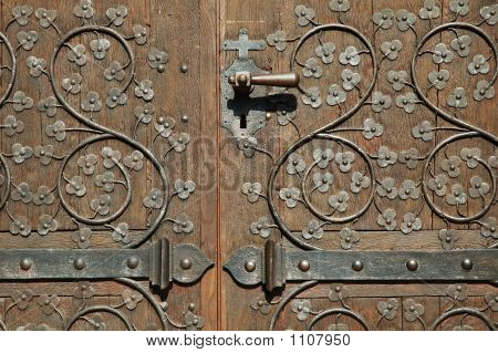 Ensisheim Church Door (France)