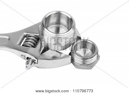 Plumbing Fitting And Wrench