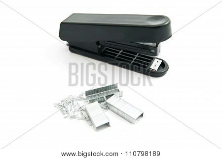 Staples And Black Stapler