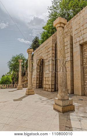 Shiraz north wall