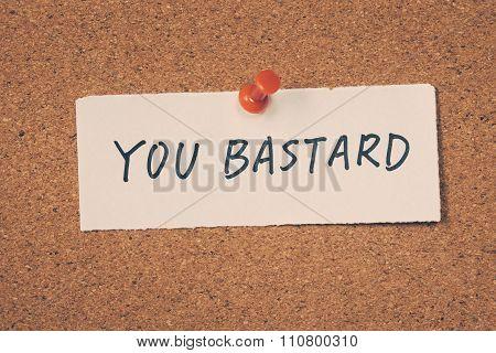 You Bastard
