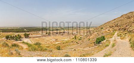 Persepolis city panorama