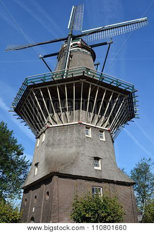 Amsterdam only windmill