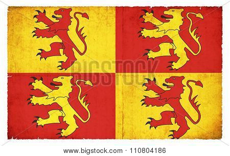 Historic Glyndwrs Banner (wales)