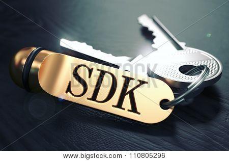 SDK written on Golden Keyring.