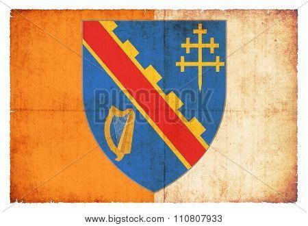 Grunge Flag Of Armagh (ireland)