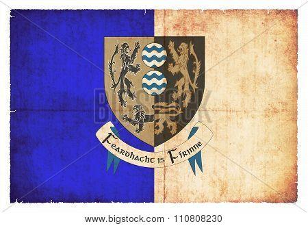 Grunge Flag Of Cavan (ireland)