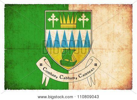 Grunge Flag Of Kerry (ireland)