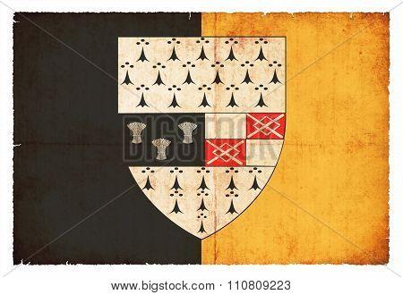 Grunge Flag Of Kilkenny (ireland)