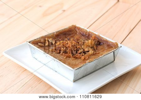 Mung Bean Thai Custard Dessert Recipe