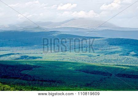 Mountain Ural Range Kvarkush 2