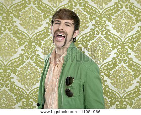 Eccentric Retro Mustache
