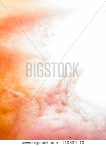 Fancy Dream Cloud of ink in the water soft focus