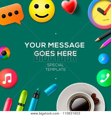 Blog concept template