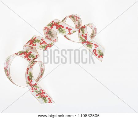 Holly Accent Ribbon