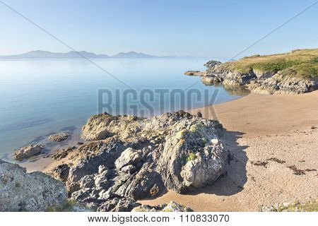 Volcanic Rock And Beach