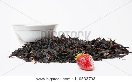 Scattering Of Loose Fresh Tea