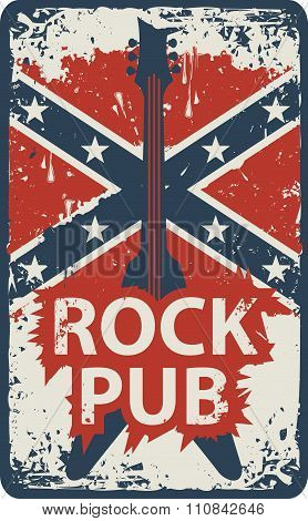 Pub With Rock Music