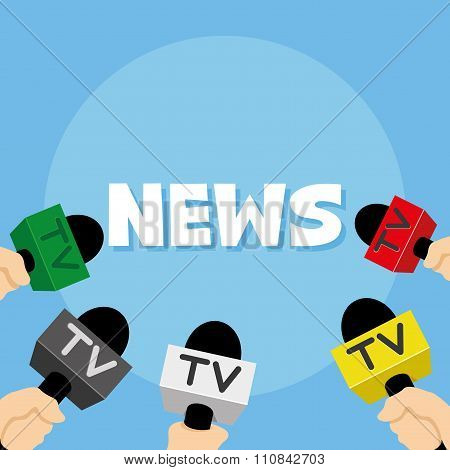 Inscription news and microphones