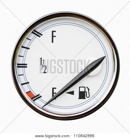 Gauge Of Level Of Fuel In The Car