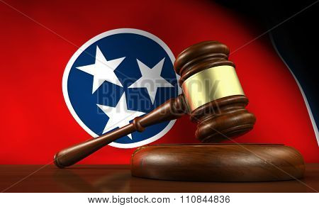 Tennessee Law Legal System Concept