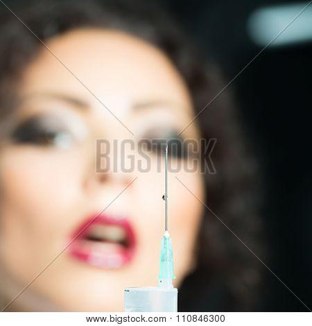 Nurse With Suringe