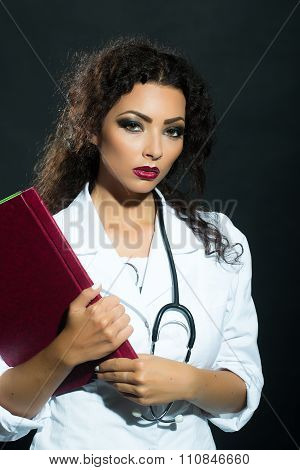 Woman With Medical Card