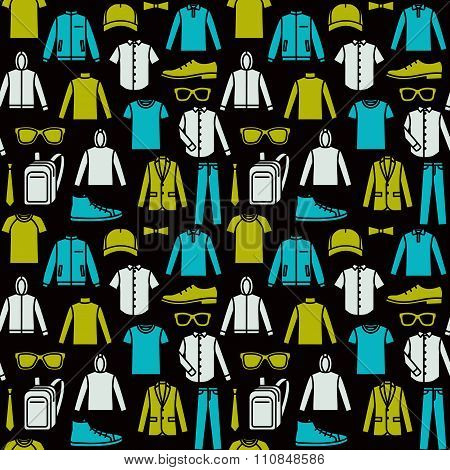 Endless Clothes Background