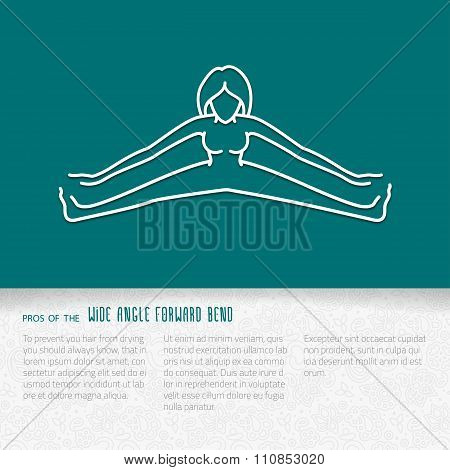 Flat Yoga Booklet Design