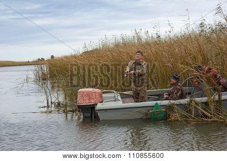 Fishermen On Fishing