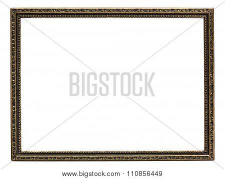 Ornate vintage metal photo frame