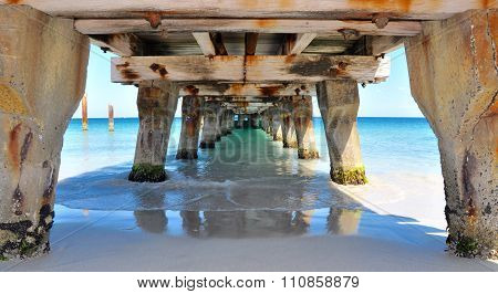 Perspective Under the Jetty