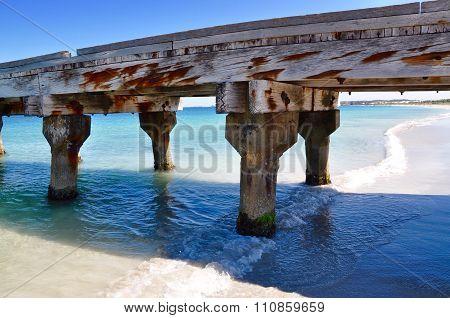 Coogee Beach Coast Line: Jetty Segment