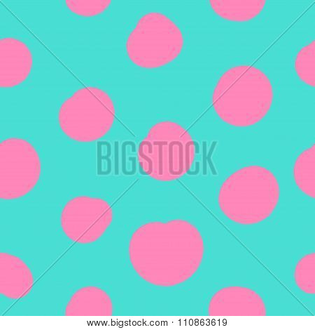 Seamless pattern in memphis style 1