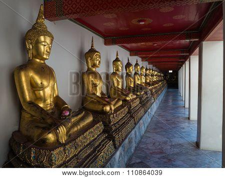 Buddha At Wat Pho