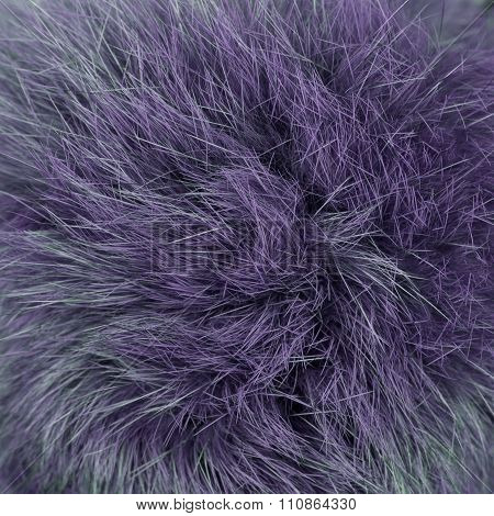 Purple furry background