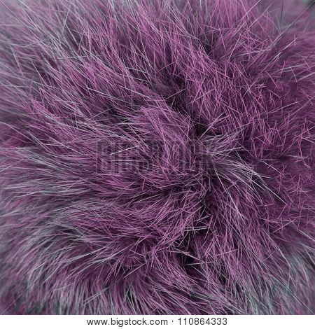 Pink furry background