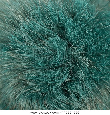Green furry background