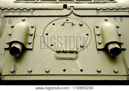 Old Tank Door Detail